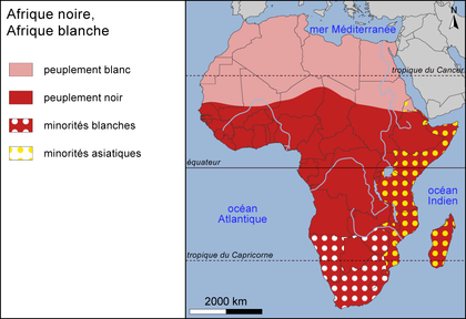 Afrique noire, Afrique blanche - illustration 1