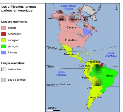 Les langues parlées en Amérique - illustration 1