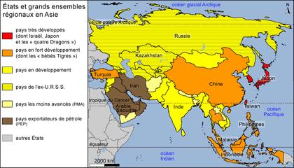 États et grands ensembles régionaux en Asie - illustration 1