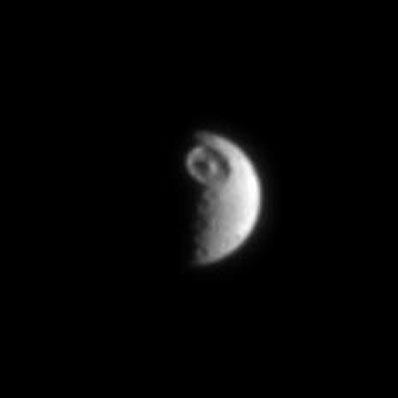 Mimas, lune de Saturne