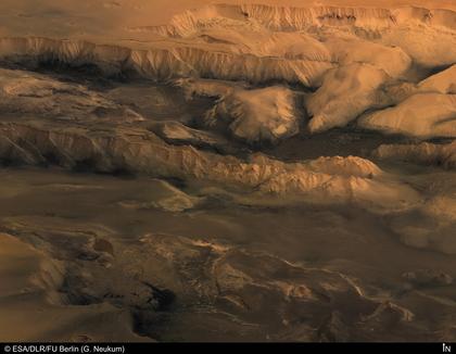 Le canyon martien Valles Marineris