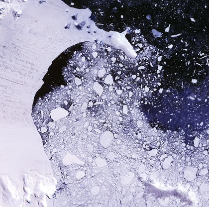Un écosystème sous l'Antarctique