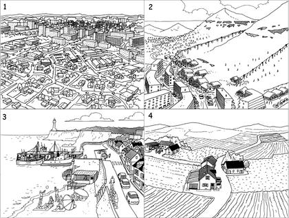 La variété des paysages français - illustration 1