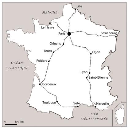L'évolution du chemin de fer en France de 1832 à 1856 - illustration 1