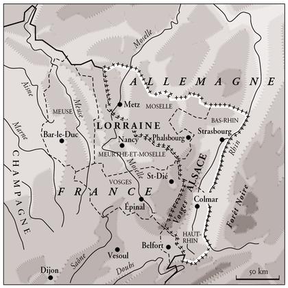 L'Alsace et la Lorraine en 1871 - illustration 1