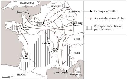 Les débarquements alliés et la libération de la France - illustration 1