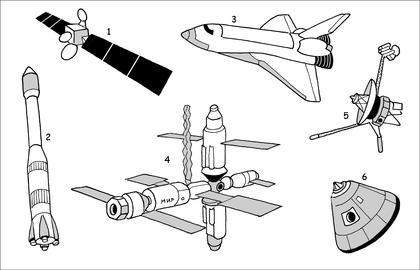 Les engins spatiaux (2) - illustration 1