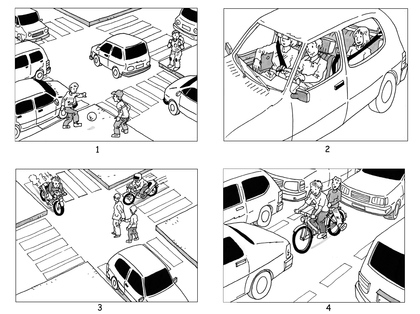 Quelques comportements dangereux dans la rue (2) - illustration 1