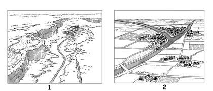 Plaines et plateaux français - illustration 1