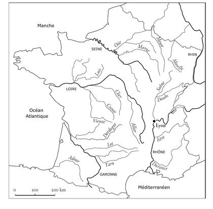 Les fleuves français - illustration 1
