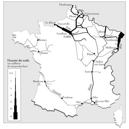 Les voies navigables en France - illustration 1