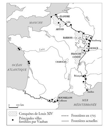 Les conquêtes de la France à l'époque de Louis XIV - illustration 1