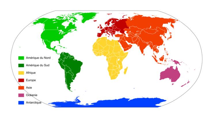 image des 5 continents