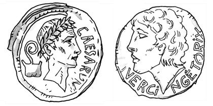 Jules César et Vercingétorix - illustration 1