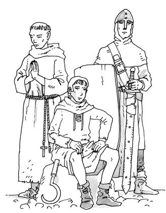 Les trois ordres de la société médiévale - illustration 1