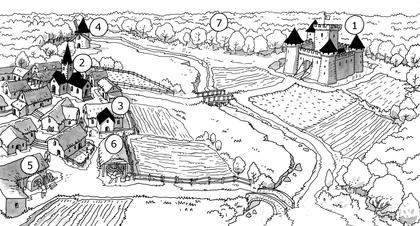 L'organisation d'une seigneurie - illustration 1