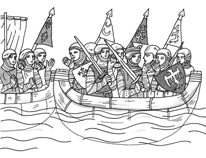 Les croisades - illustration 1