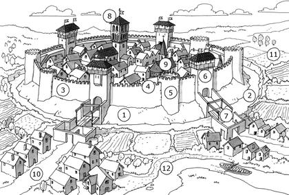 La ville au Moyen Âge - illustration 1
