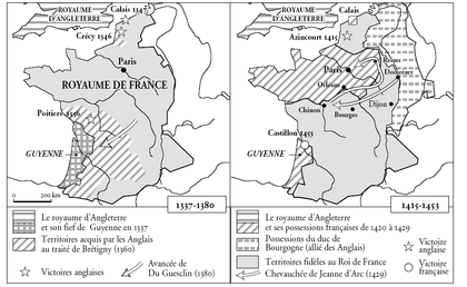 La France de 1337 à 1453 - illustration 1