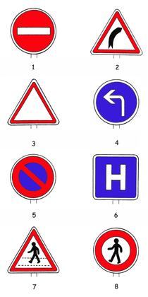 Quelques panneaux routiers - illustration 1