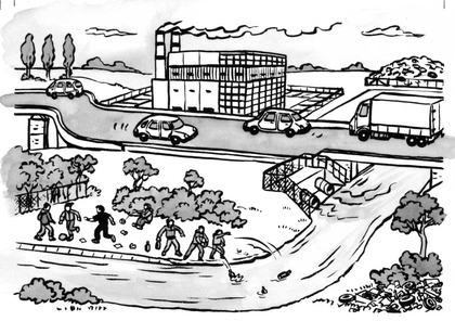 Les causes de pollution - illustration 1