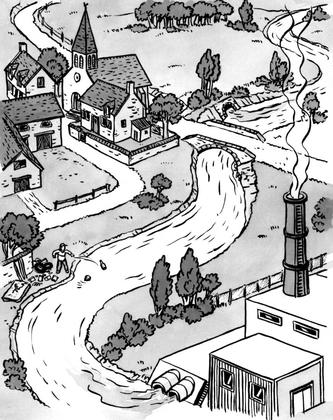 La pollution de l'eau - illustration 1