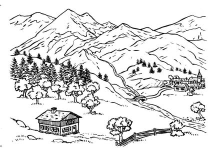 L'étagement de la végétation en montagne - illustration 1
