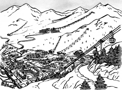Les sports d'hiver - illustration 1