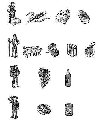 Les produits de l'agriculture - illustration 1