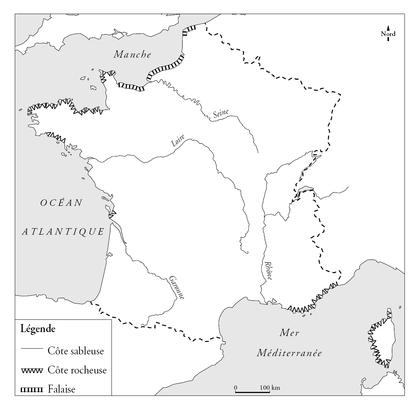 Le littoral français - illustration 1