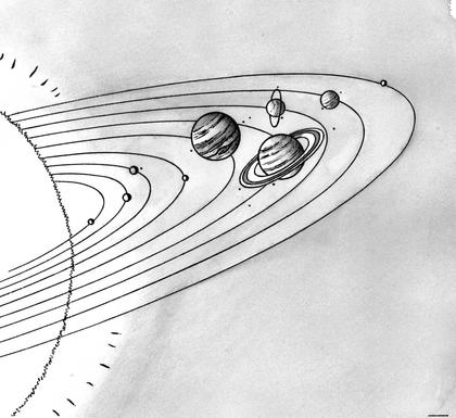 Les planètes du système solaire - illustration 1