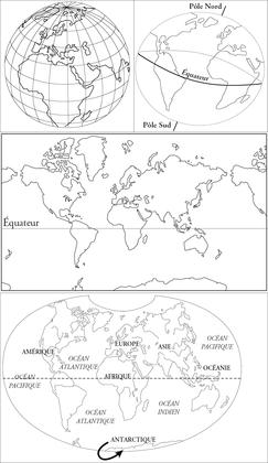 Globe ou planisphère ? - illustration 1