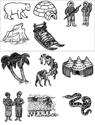 L'influence du climat sur le mode de vie - illustration 1