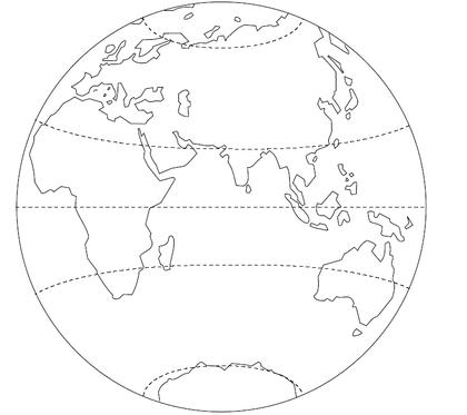 L'équateur, les tropiques et les cercles polaires - illustration 1