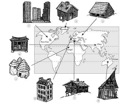 La diversité des habitats dans le monde - illustration 1