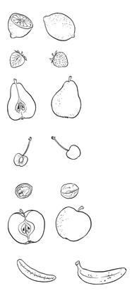 Les différents fruits (1) - illustration 1