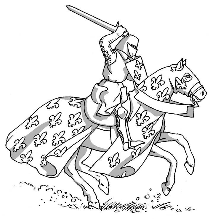 Image fde10tp20i02 l 39 armure d 39 un chevalier au moyen ge - Dessin moyen age ...