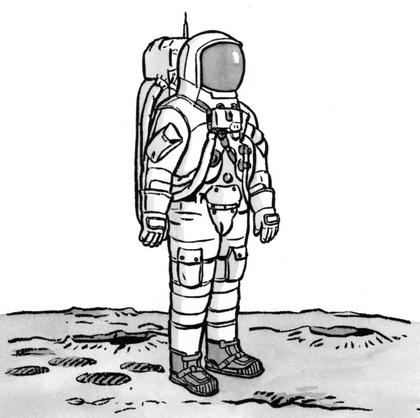 L'équipement du cosmonaute - illustration 1