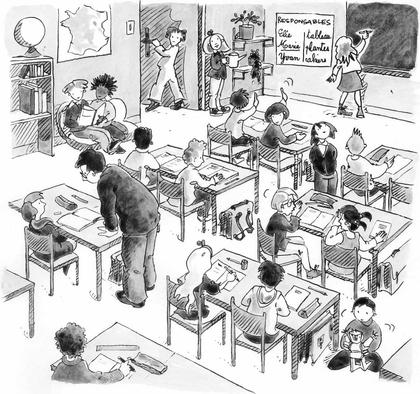Les règles de vie dans la classe - illustration 1