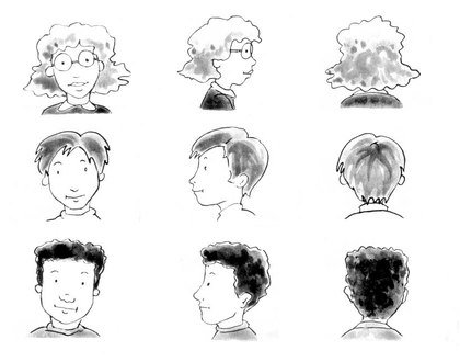 Les différentes vues d'un même personnage - illustration 1