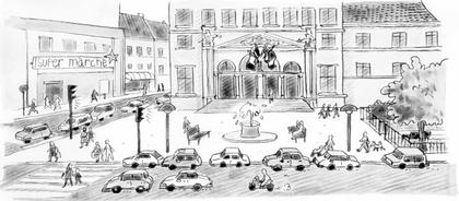 Dans la ville... - illustration 1
