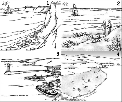 Différents paysages côtiers - illustration 1
