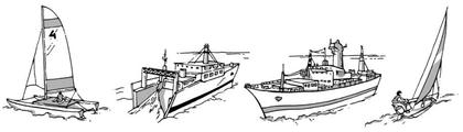 Des bateaux très différents - illustration 1