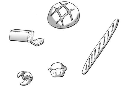Les produits de la boulangerie (1) - illustration 1