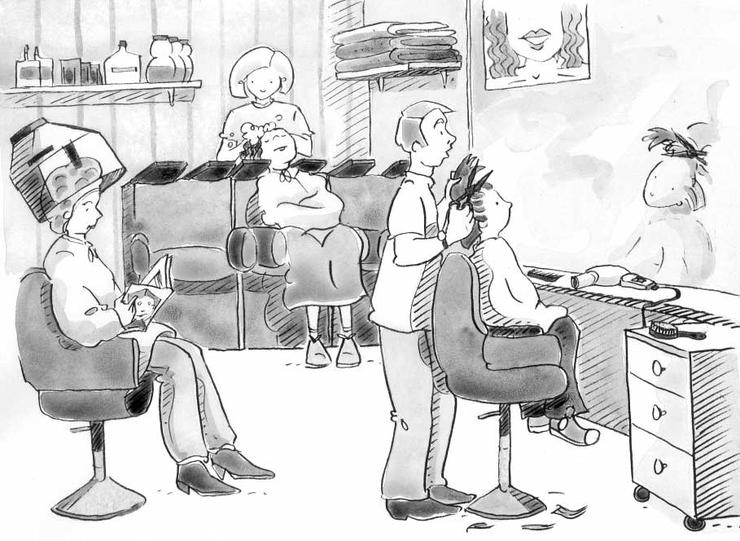 Chez le coiffeur - Base documentaire en éducation civique ...