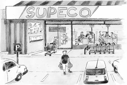 Qu'est-ce qu'un supermarché ? - illustration 1