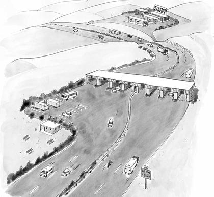 L'organisation d'une autoroute - illustration 1