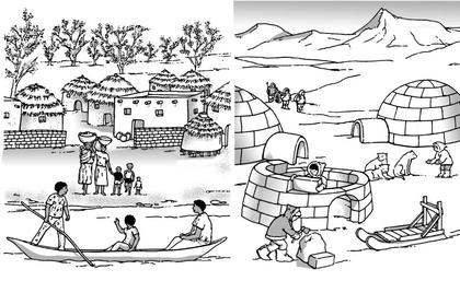 Des milieux lointains : l'Afrique et le pôle Nord - illustration 1