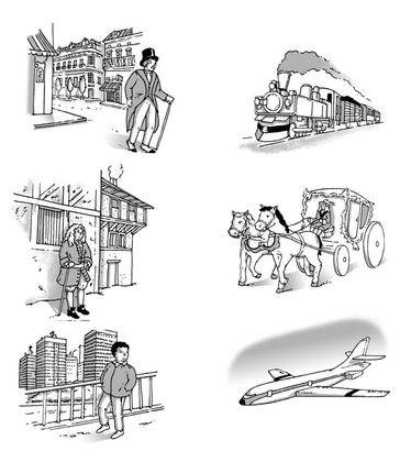 À chaque époque, son moyen de transport - illustration 1