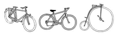 Les vélos - illustration 1